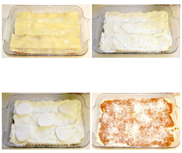 Lasagna collage 3