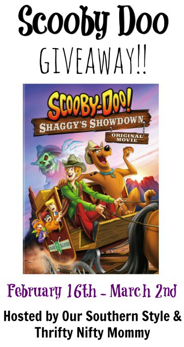 Scooby Giveaway