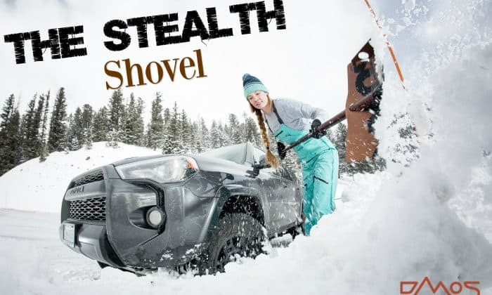The Stealth Takes The Dread Out of Snow Shoveling