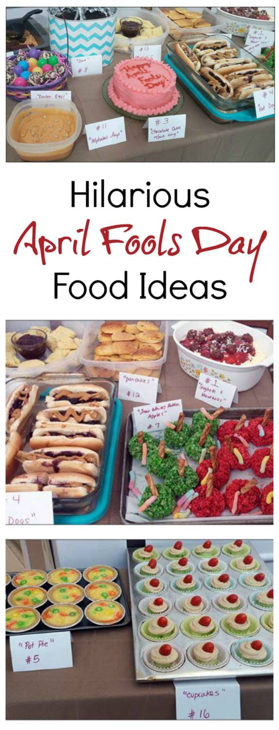 April Fools Day Foods