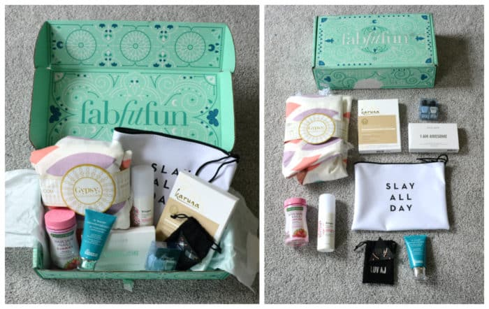 What is in FabFitFun Box Spring 2017
