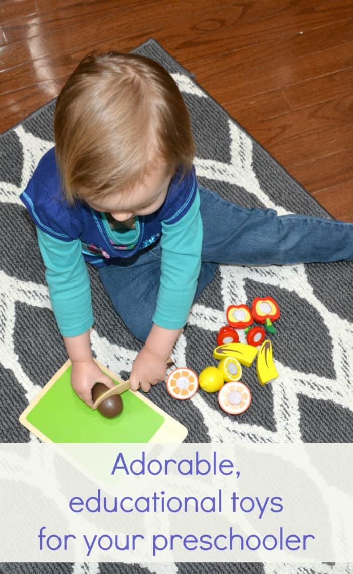 Toys for your preschooler