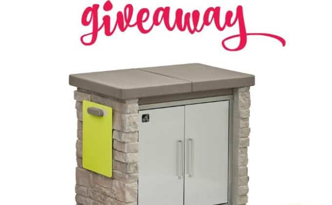 Win a Step2 StoneFront Patio Collection Cooler & Storage and a Ready Shed by Backyard Discovery!