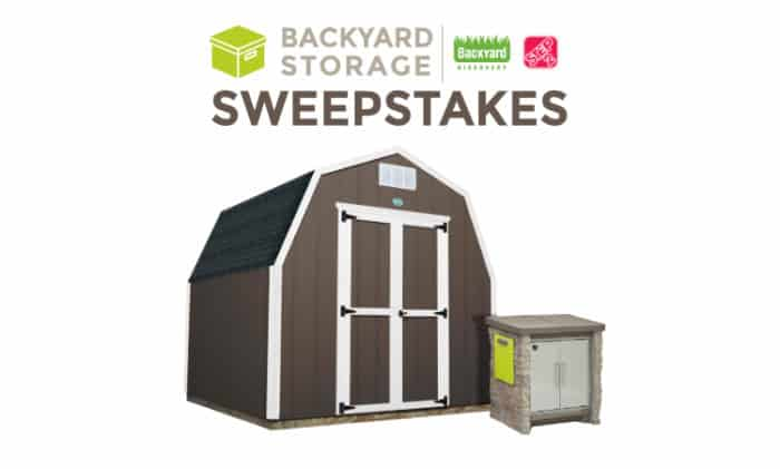 Backyard Storage Sweepstakes