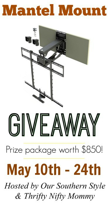 Mantel Mount Giveaway