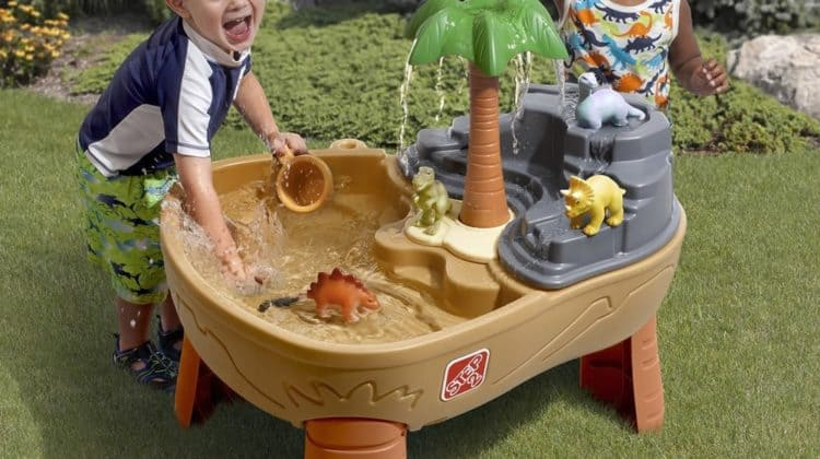 Win the Step2 Dino Dig Sand and Water Table!