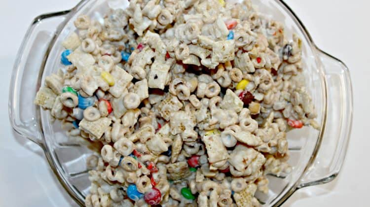 Cereal Drop Snack Mix Recipe ~ A Family Favorite!