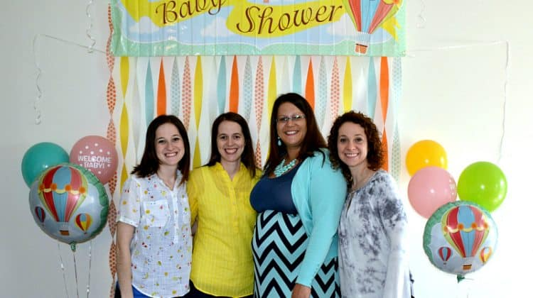 Up and Away Baby Shower