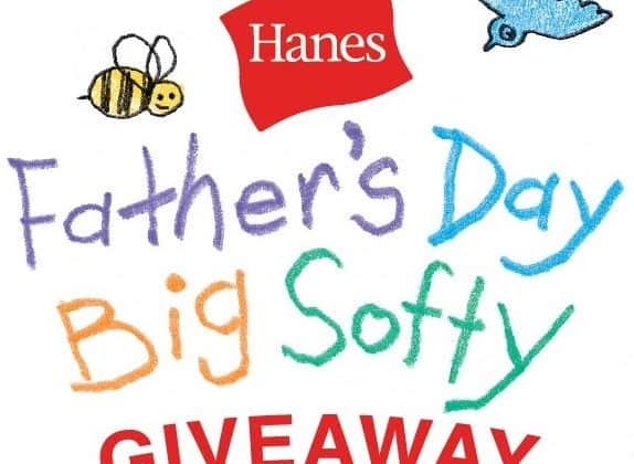 This Father's Day, Help Dad Embrace His Softer Side with Hanes!