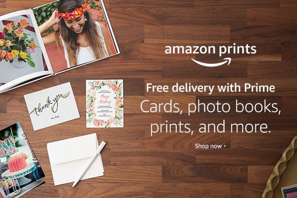 Amazon Prints is REALLY worth the try! {Plus $1000 of Amazon Gift Cards to be Won!}