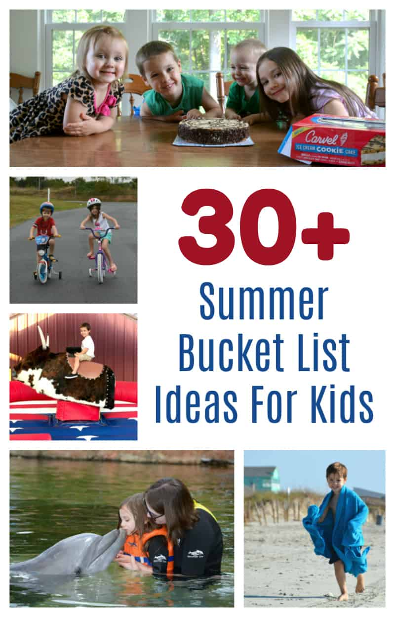 ultimate summer bucket list ideas for kids