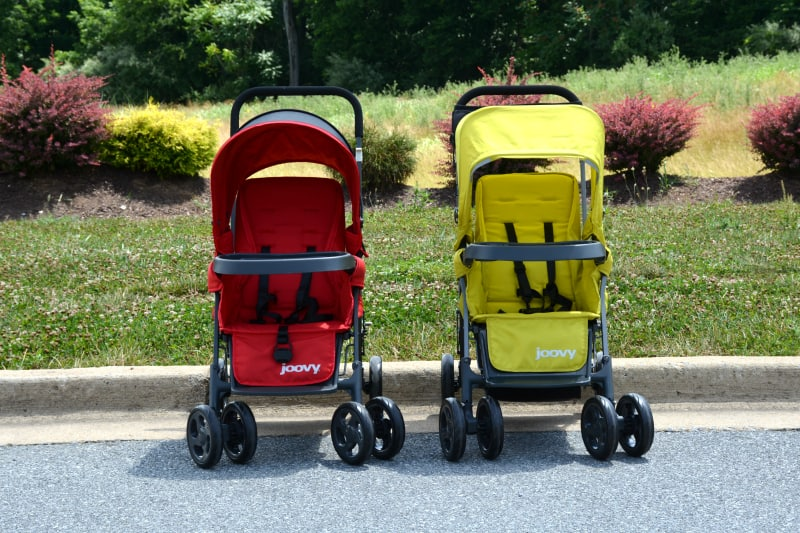 Comparing the Joovy Caboose to the Joovy Ultralight Caboose