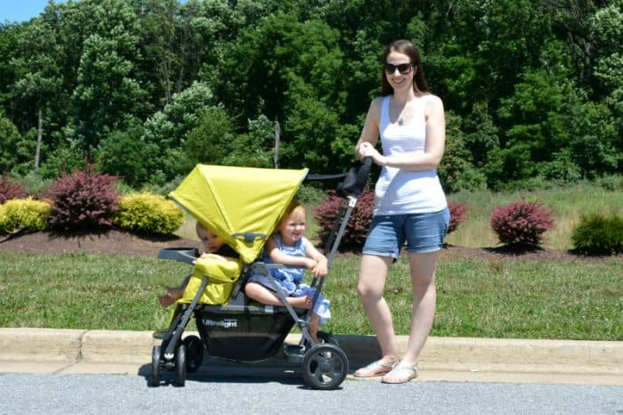 Joovy Caboose Ultralight Stroller Review Thrifty Nifty Mommy