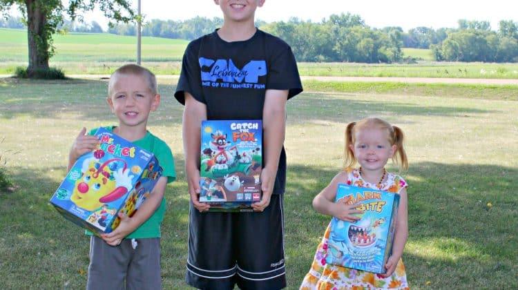Kids Game Night Just Got Better {+ Pressman Games Giveaway}