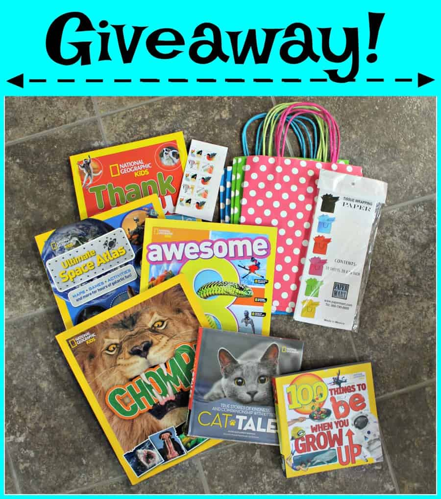 National Geographic Kids Books {+ Giveaway!} - Thrifty Nifty Mommy