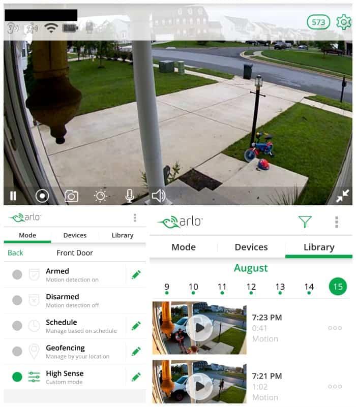 Arlo Pro wireless security camera