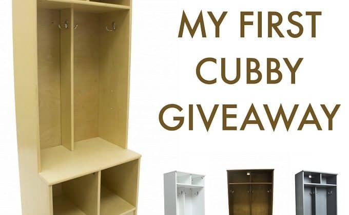 WIN My First Cubby from Little Partners!