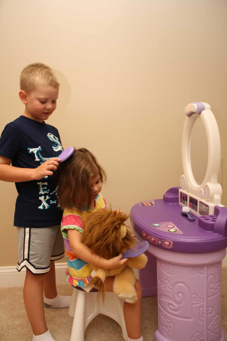 Toddler Haircare Solutions With The Step2 Pretty And Posh