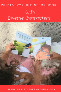 Exposing our kids to the world through books with diverse characters will empower a generation of successful children in a world that is ever changing.
