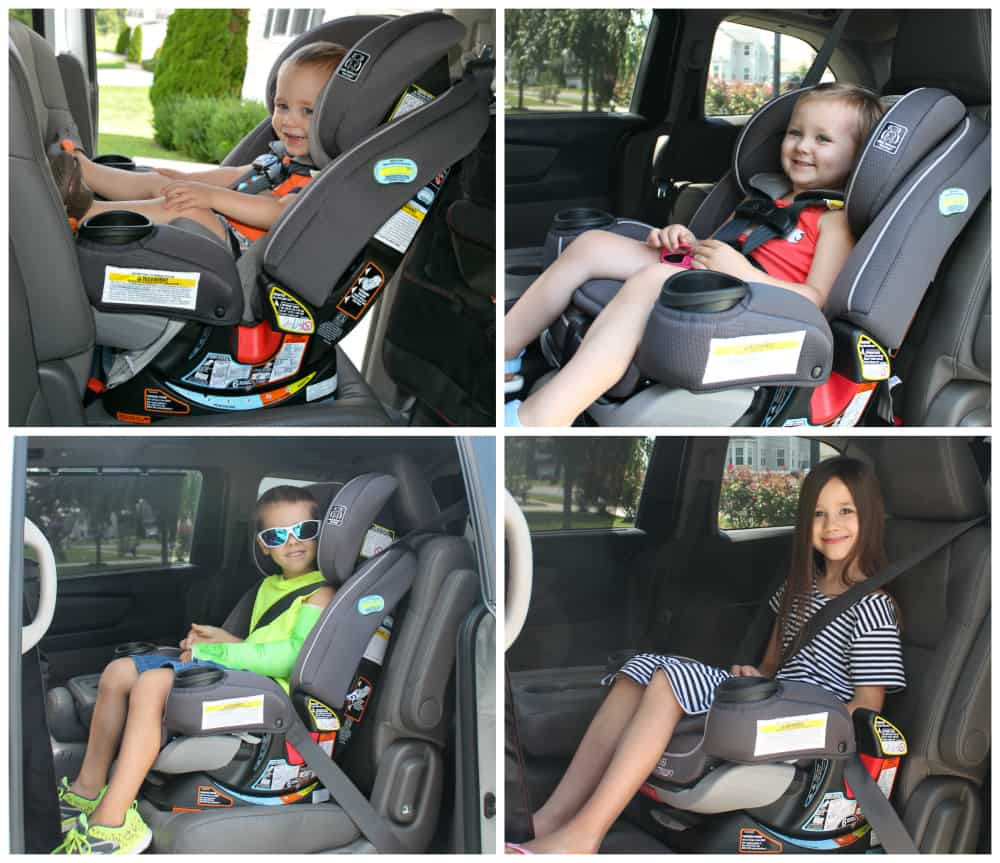 Although Ive Shown You Above All 4 Car Seat Configurations I Actually Only Use The First 2 Currently Since Of My Children Still A 5 Point Harness