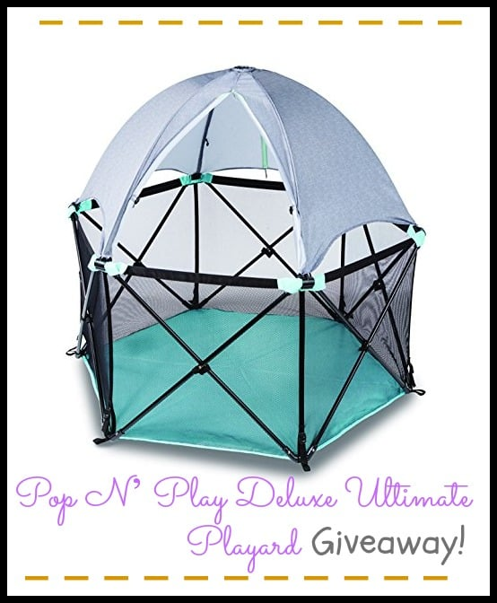 Summer Infant Pop N' Play™ Deluxe Ultimate Playard Giveaway