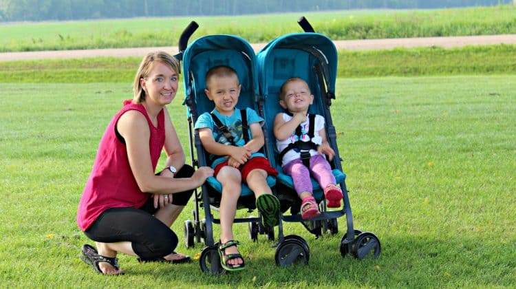 Joovy TwinGroove Ultralight Double Stroller