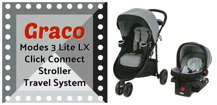 Graco Modes 3 Lite LX Click Connect Stroller Travel System