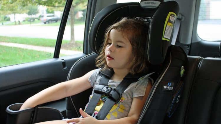 Graco Extend2Fit 3-in-1 Car Seat featuring TrueShield Technology