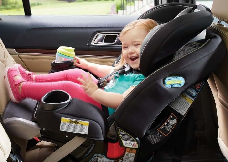 Graco 4Ever Extend2fit All-in-One Convertible Car Seat
