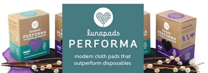 Lunapads Washable Reusable Pads