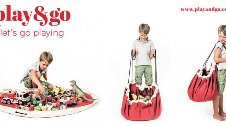 Play&Go Drawstring Play Mat & Storage Bag