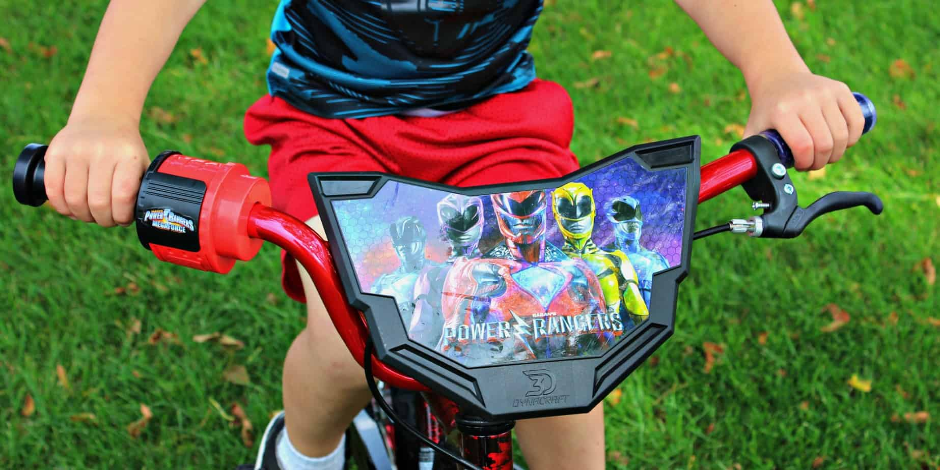 "Dynacraft Power Rangers 16"" Bike, Red"