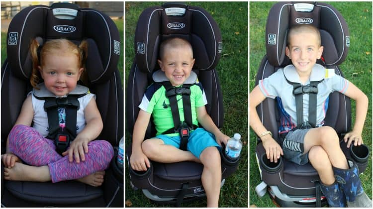Graco Graco 4Ever Extend2Fit 4-in-1 Car Seat Convertible Car Seat