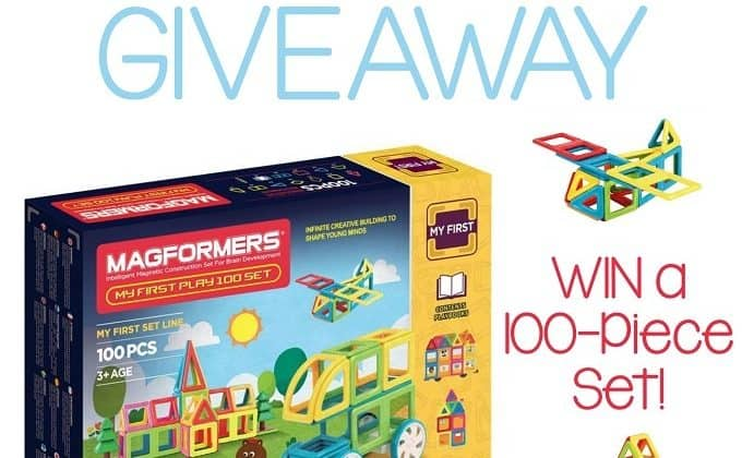WIN a Magformers 100-Piece Building Set!