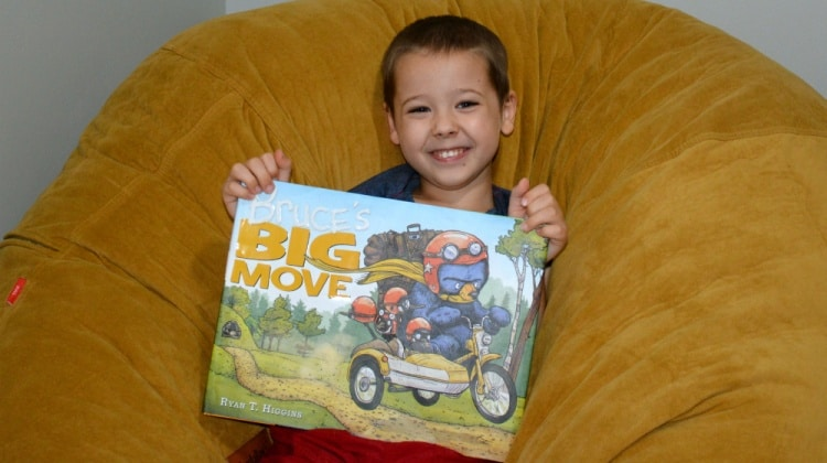 Check Out Bruce's Big Move {Plus a Giveaway!}