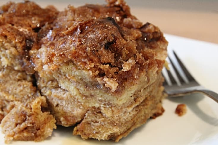 Fresh Baked Cinnamon French Toast Recipe