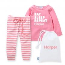 Girls-Winter-Pyjamas_with-Personalised-Bag-1