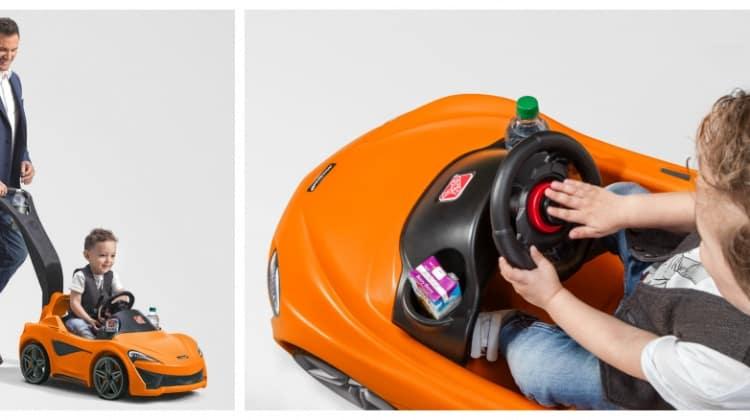Win the Step2 McLaren 570S Push Sports Car