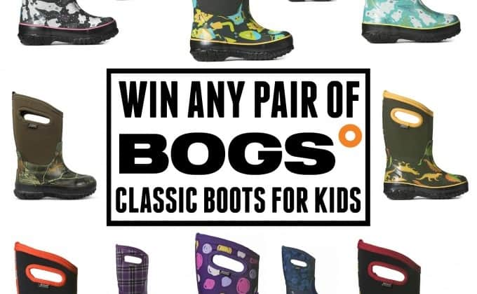 WIN a Pair of Classic Kid's Boots from Bogs Footwear!