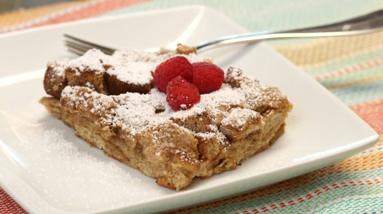 Fall Fresh Baked French Toast {Recipe}