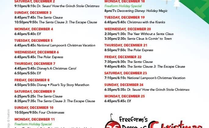 Countdown to 25 Days of Christmas!
