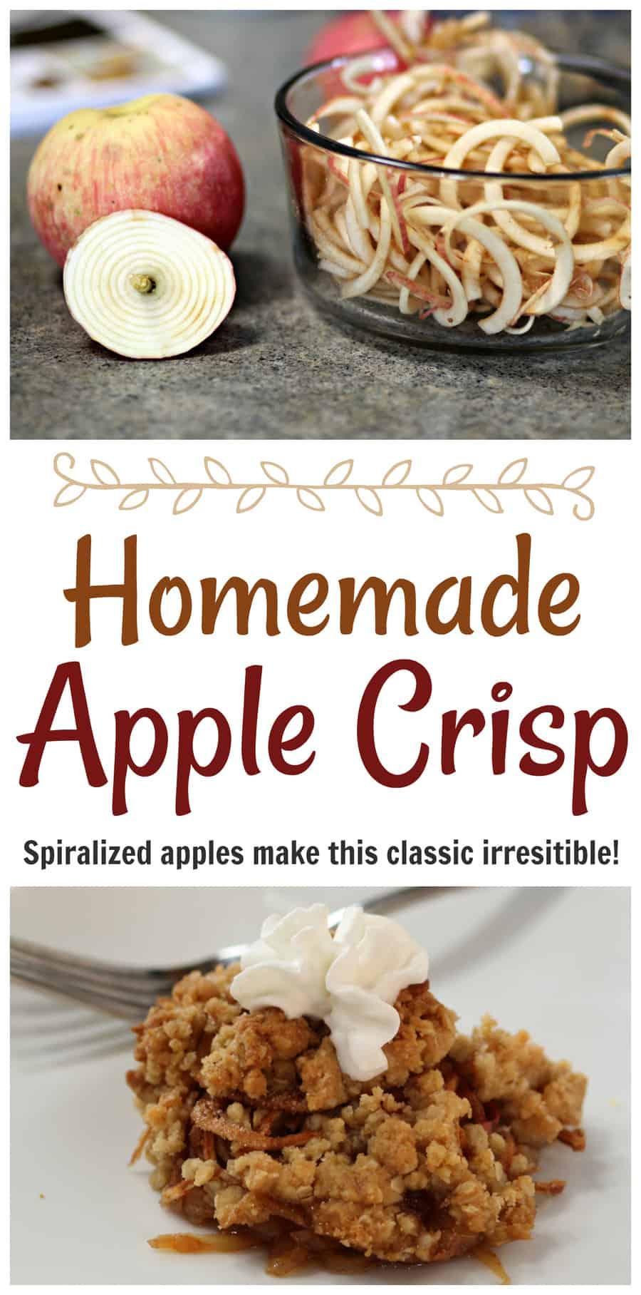 Homemade Easy Apple Crisp Recipe