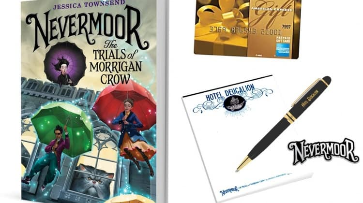 Nevermoor: The Trials of Morrigan Crow {Plus a Giveaway!}