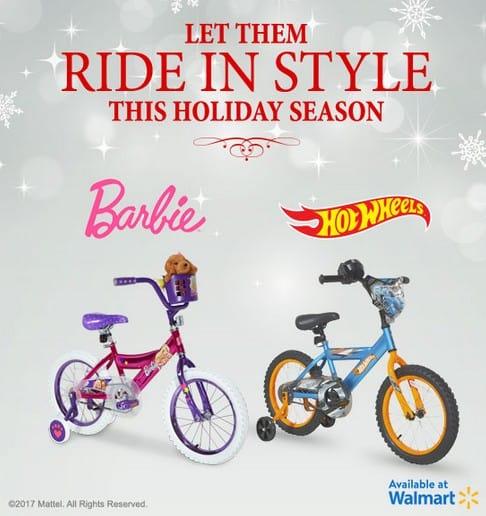 "Mattel 16"" Boys' Hot Wheels Bike"