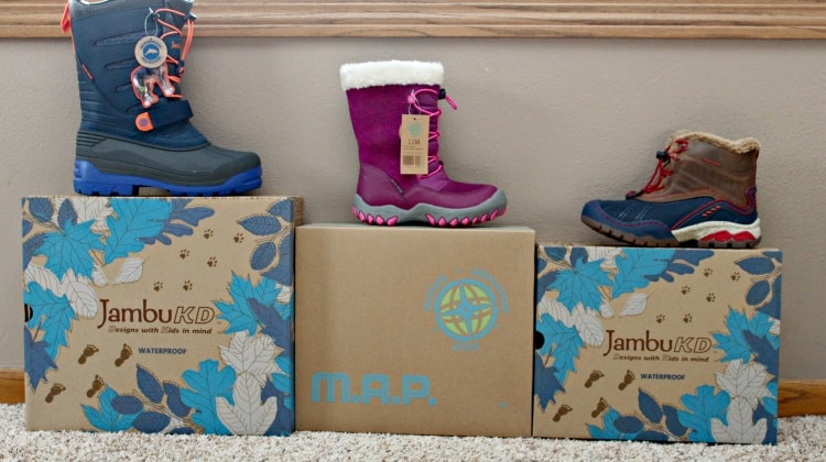 JambuKD & M.A.P ~ Kids Winter Boots {Review}