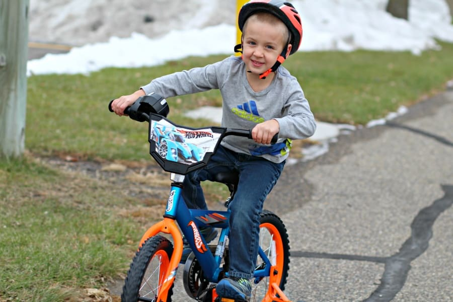 "Mattel 16"" Boys' Hot Wheels Bike At Walmart"