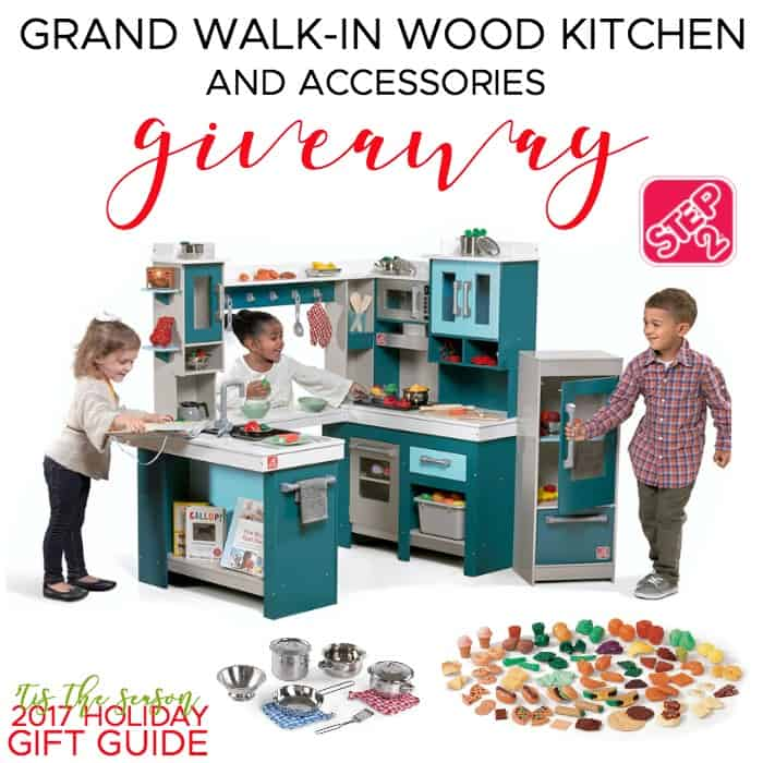 Win this Step2 Grand Walk-in Kitchen and Accessories!