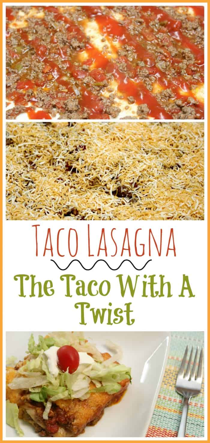 Taco Lasagna ~ The Taco With A Twist Recipe