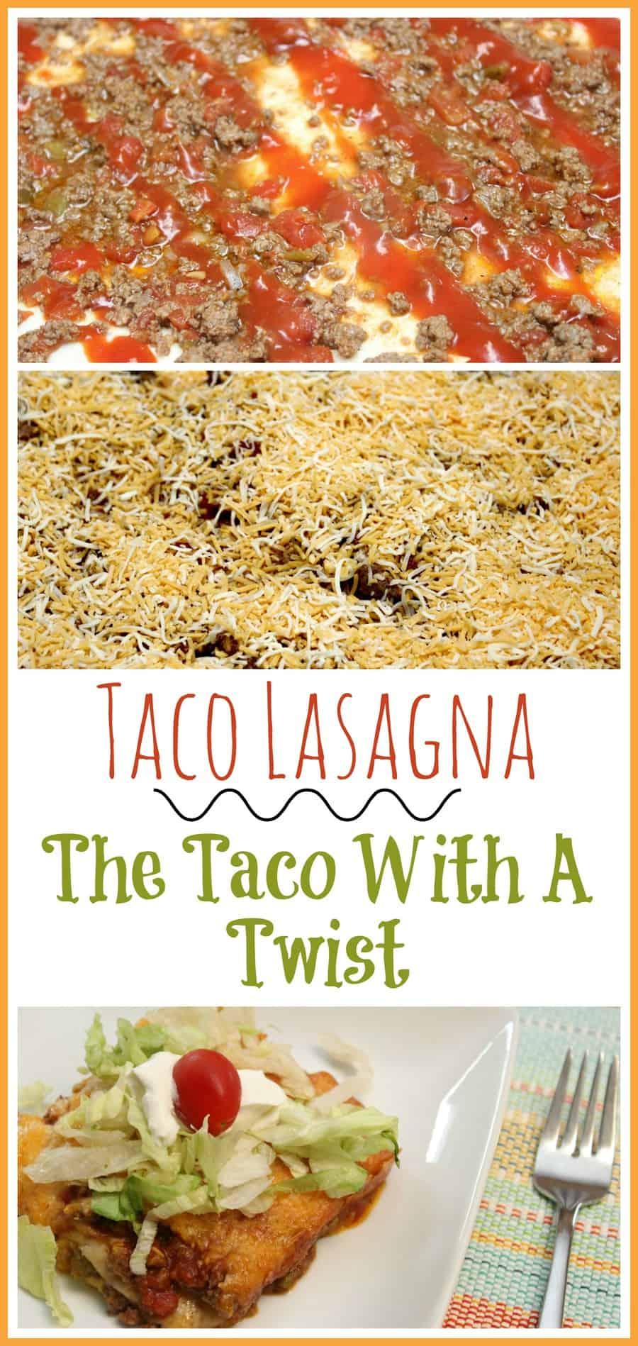 Taco Lasagna ~ The Taco With A Twist Recipe