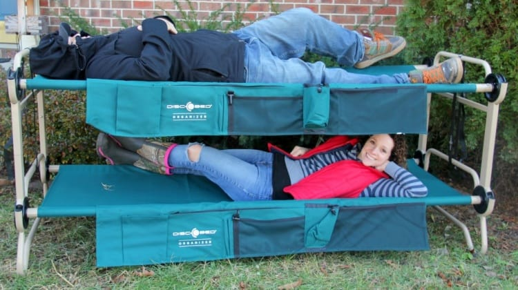 Get Out There With Disc-O-Bed!